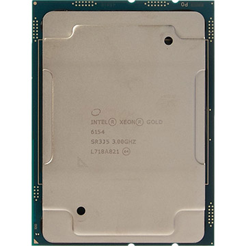 Quad Intel Xeon Gold 6154 on Amazon USA