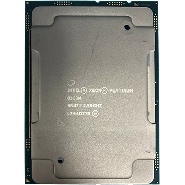 Quad Intel Xeon Platinum 8180M on eBay USA