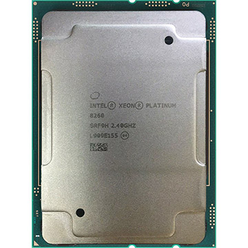Quad Intel Xeon Platinum 8260 on Amazon USA