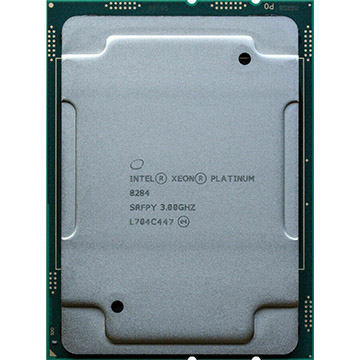 Quad Intel Xeon Platinum 8284 on Amazon USA