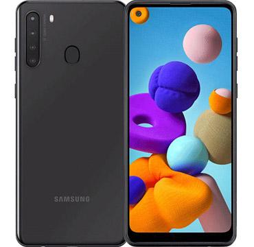 Samsung Galaxy A21 on Amazon USA