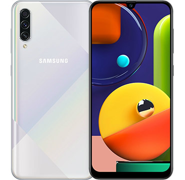 Samsung Galaxy A50s on Amazon USA