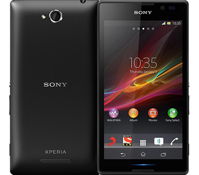 Sony Xperia C on Amazon USA
