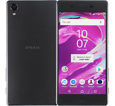 Sony Xperia X on Amazon USA
